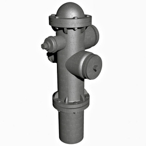 1:48 Fire Hydrant Model 1920 Ver2