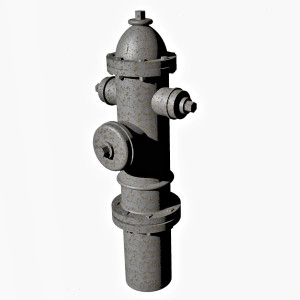 1:48 Fire Hydrant Model 1930 Ver1