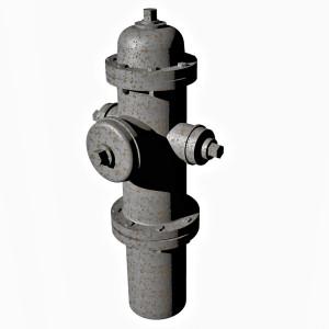 1:64 Fire Hydrant Model 1962 Ver 1