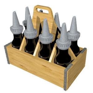 1:48 Quart Oil Bottles and Racks