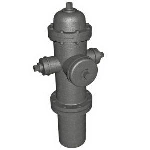1:35 Fire Hydrant Model 1962 Ver1