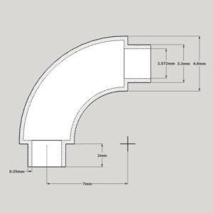 Welded Pipe Fittings - 90° elbows