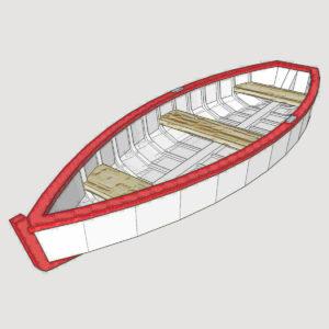 HO Rowboat - Ver 1