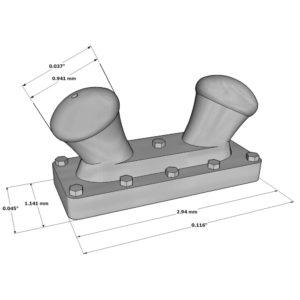 Double-Deck Bitt 2,94mm