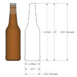1:64 Beer/Soda Bottles – Ver2