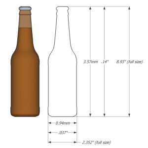 1:64 Beer/Soda Bottles - Ver2