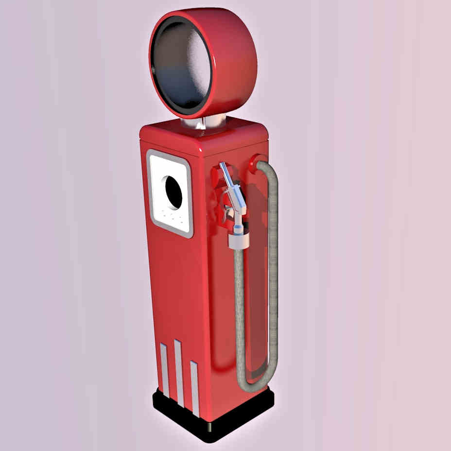 1:87 8-Ball Gas Pump