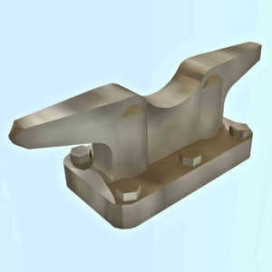 Mooring Cleats - 3.5 mm